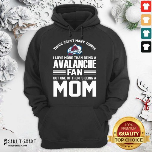Mother's Day Shirt For Colorado Avalanche Mom Hoodie- Design By Girltshirt.com