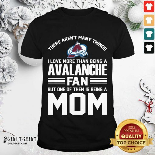 Mother's Day Shirt For Colorado Avalanche Mom Shirt - Design By Girltshirt.com