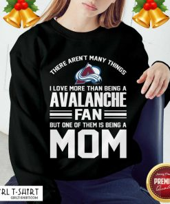 Mother's Day Shirt For Colorado Avalanche Mom Sweatshirt - Design By Girltshirt.com