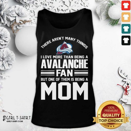 Mother's Day Shirt For Colorado Avalanche Mom Tank Top - Design By Girltshirt.com