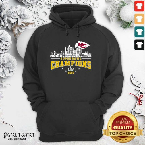 Super Bowl Champions 2020 Name Hoodie- Design By Girltshirt.com