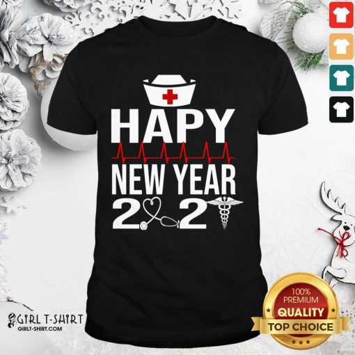 Happy New Year 2021 Nurse Crew Santa's Favorite Nurse Shirt- Design By Girltshirt.com