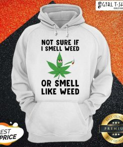 Cannabis Not Sure If I Smell Weed Or Smell Like Weed Hoodie- Design By Girltshirt.com