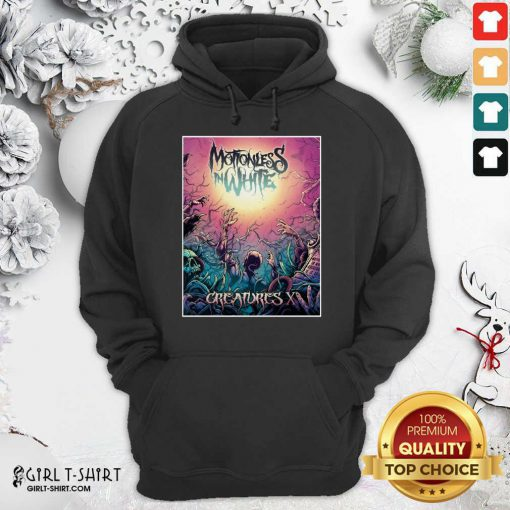 Motionless In White Merch Creatures Deadstream Hoodie - Design By Girltshirt.com