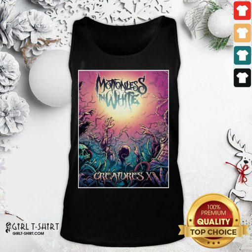 Motionless In White Merch Creatures Deadstream Tank Top - Design By Girltshirt.com
