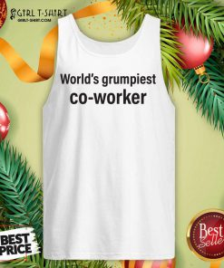 World's Grumpiest Co Worker Tank Top - Design By Girltshirt.com