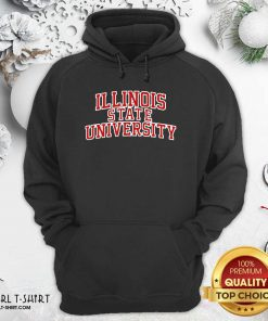 Illinois State University Red Hoodie - Design By Girltshirt.com