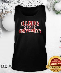 Illinois State University Red Tank Top - Design By Girltshirt.com