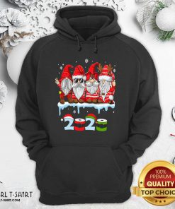 Merry Christmas Gnomes Wear Mask 2020 Quarantine Xmas Hoodie - Design By Girltshirt.com