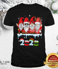 Merry Christmas Gnomes Wear Mask 2020 Quarantine Xmas Shirt - Design By Girltshirt.com