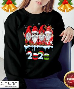 Merry Christmas Gnomes Wear Mask 2020 Quarantine Xmas Sweatshirt - Design By Girltshirt.com