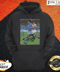 Rip Diego Maradona Legend Never Die Signature Hoodie - Design By Girltshirt.com