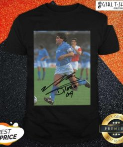Rip Diego Maradona Legend Never Die Signature Shirt - Design By Girltshirt.com