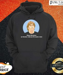 Diego Maradona 30 October 1960 25 November 2021 Hoodie