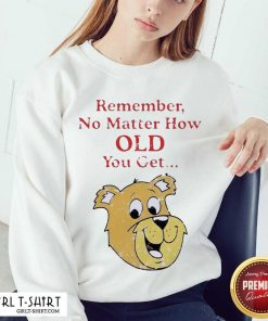 Scooby Doo Remember No Matter How Old You Get Sweatshirt