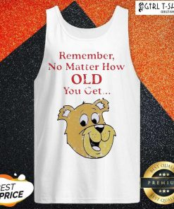 Scooby Doo Remember No Matter How Old You Get Tank Top