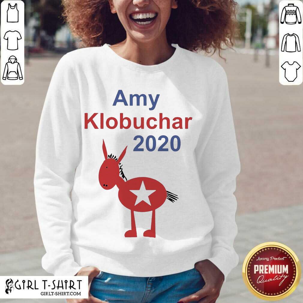Amy Klobuchar 2021 V-neck - Design By Girltshirt.com