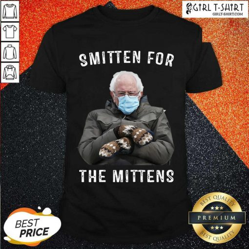 Bernie Sanders Smitten For The Mittens Shirt