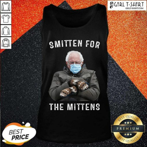 Bernie Sanders Smitten For The Mittens Tank Top