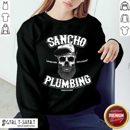 Sancho Plumbing Co Sweatshirt