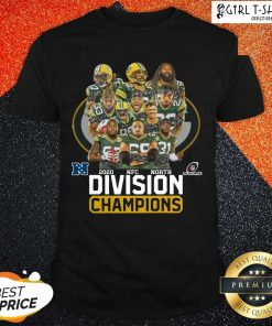 Green Bay Packers 2020 Nfc North Division Champions Shirt - Design By Girltshirt.com