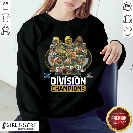 Green Bay Packers 2020 Nfc North Division Champions Sweatshirt- Design By Girltshirt.com