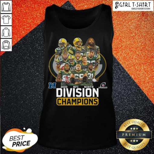 Green Bay Packers 2020 Nfc North Division Champions Tank Top - Design By Girltshirt.com