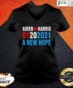 Biden Harris Inauguration January 2021 A New Hope 01202021 V-neck