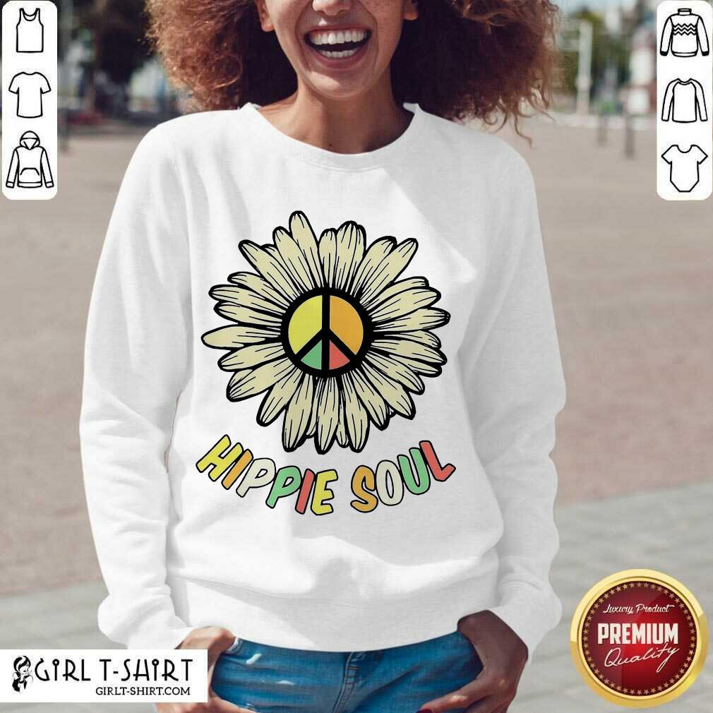 Hippie Soul V-neck- Design By Girltshirt.com