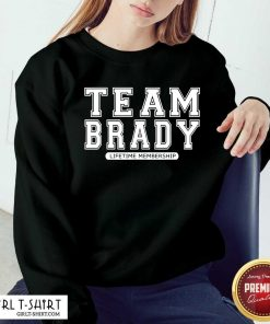 Team Brady Lifetime Membership Tampa Bay Buccaneers Sweatshirt