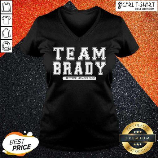 Team Brady Lifetime Membership Tampa Bay Buccaneers V-neck