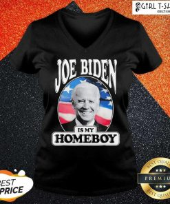 Joe Biden Is My Homeboy V-neck