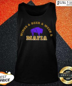The Buffalo Bills Wings Beer And Wech Mafia 2021 Tank Top