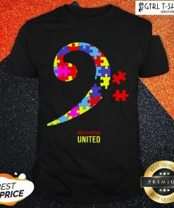 Bass Players United Rocks For Autism Shirt