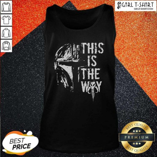 Star Wars This Is The Way Tank Top