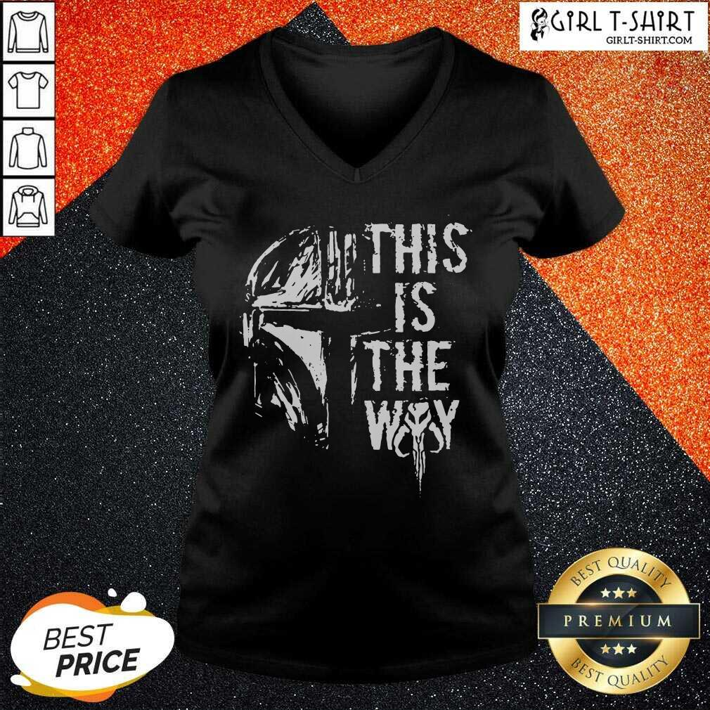 Star Wars This Is The Way V-neck