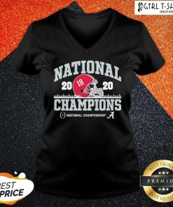 Alabama National Championship 2021 V-neck