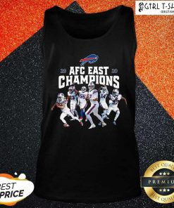 Buffalo Bills Players 2020 AFC East Champions Tank Top