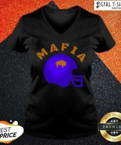 The Buffalo Bills Mafia Helmet 2021 V-neck