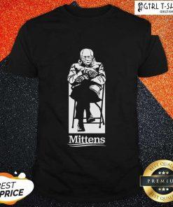 Bernie Mittens Inauguration white Shirt