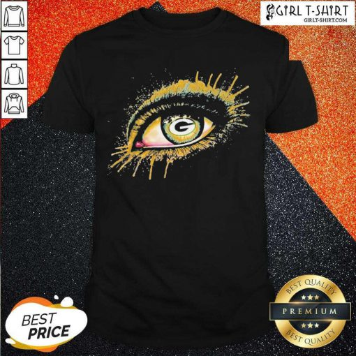Eyes Green Bay Packers Shirt - Design By Girltshirt.com