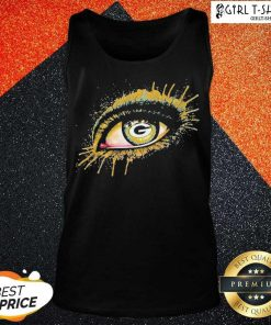 Eyes Green Bay Packers Tank Top - Design By Girltshirt.com