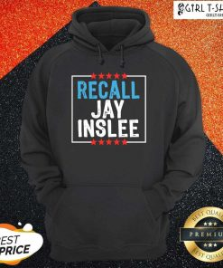 Recall Jay Inslee Stars Election Hoodie- Design By Girltshirt.com