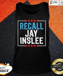 Recall Jay Inslee Stars Election Tank Top - Design By Girltshirt.com