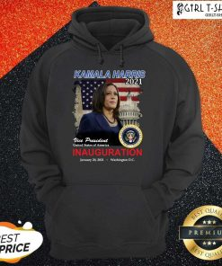 2021 Inauguration Day Kamala Harris Commemorative Souvenir Hoodie