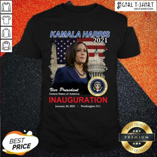 2021 Inauguration Day Kamala Harris Commemorative Souvenir Shirt