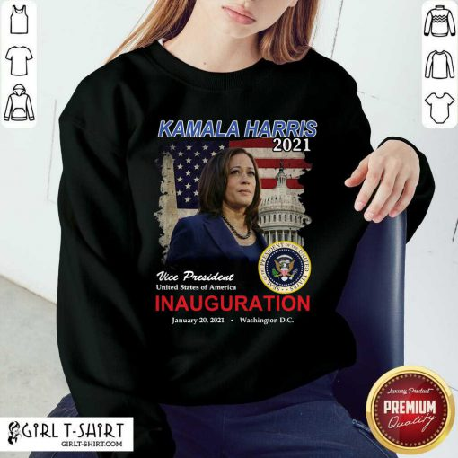 2021 Inauguration Day Kamala Harris Commemorative Souvenir Sweatshirt