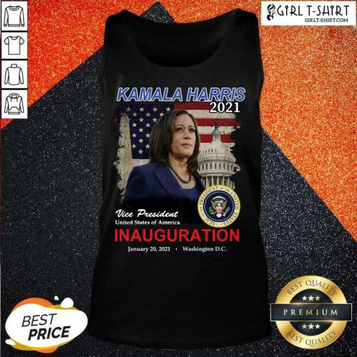 2021 Inauguration Day Kamala Harris Commemorative Souvenir Tank Top
