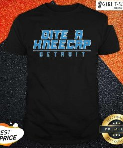 Bite A Kneecap Detroit Football Shirt