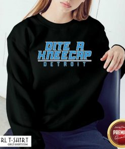 Bite A Kneecap Detroit Football Sweatshirt